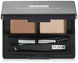 <b>PUPA</b> Milano <b>Eyebrow</b> Design Set, <b>Brown</b> 1.1 g: Amazon.co.uk ...