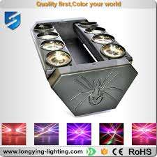 6pcslot new led spider light effects cree 8x10w rgbw beam moving head 90v cheap lighting effects