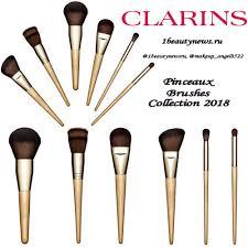 Новая коллекция <b>кистей</b> для макияжа <b>Clarins Pinceaux</b> Brushes ...