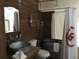 Bear Lake Glamping Resort Wraps Up Second Season Of Luxury Camping - Bathroom wraps