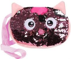 Мягкая игрушка-<b>сумочка Fluffy Family</b> Котенок 18*6 см