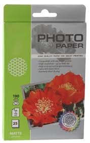<b>Фотобумага Cactus CS-MA619025 A6</b> 190g/m2 25 листов White ...