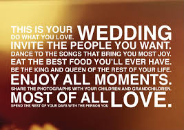 Wedding Quotes. QuotesGram via Relatably.com