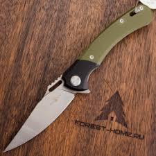 <b>Складной нож Two</b> Sun TS127Green сталь 14C28, рукоять Green ...