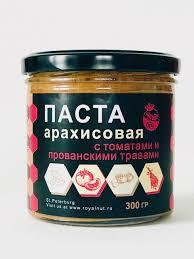 Арахисовая <b>паста</b> с томатами и прованскими травами <b>Royal nut</b> ...