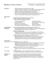 mechanical engineer  new grad  resumefree resume templates