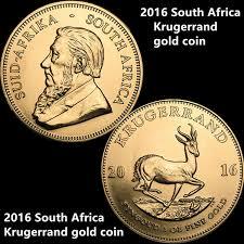 <b>Free Shipping 10pcs lot</b>, 2016 <b>South</b> Africa Krugerrand Gold Coin ...