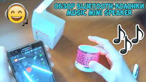 "Обзор bluetooth-<b>колонки</b> ""Music Mini Speaker"" (Светящаяся ..."