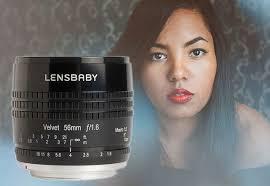 <b>Lensbaby Velvet 56</b> – мануальный <b>объектив 56</b> мм f/1.6 для ...