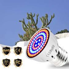 <b>E27 LED Grow</b> Light Full Spectrum LED Lamp For Plants Light E14 ...