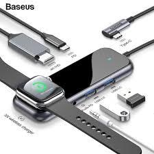 <b>Baseus</b> USB <b>Type C HUB</b> to HDMI RJ45 Multi <b>USB 3.0</b> USB3.0 ...