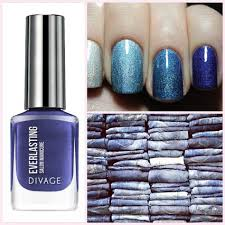<b>Nail</b> polisg gel effect@ EVERLASTING <b>DIVAGE</b>// BLUE