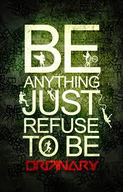 Refuse to be ordinary by illuminati1 on DeviantArt