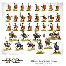 <b>SPQR</b> - 1000 Denarii Caesar's <b>Legions</b> Warband - Warlord Games