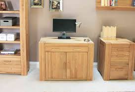 atlas oak hidden home office desk atlas oak hidden home