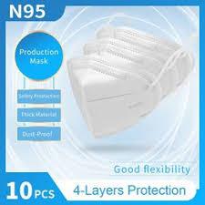10PCS KN95 Face Mask Respirador Safety Production KN95 ... - Vova