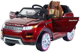 Детский <b>электромобиль Range</b> Rover Luxury Red MP4 12V ...