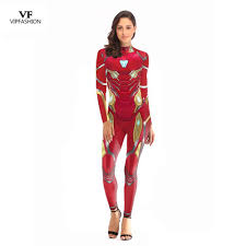 VIP FASHION <b>2019 New Arrival</b> Cosplay Bodysuit Women 3D ...