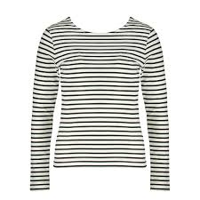 mm carolie long sleeve striped tee mm women clothes men at carolie long sleeve striped tee black white large