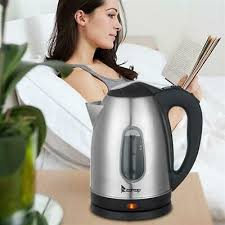 Stainless Steel Electric Kettle <b>ZOKOP HD-1802S 220V 2000W</b> 1.8L ...