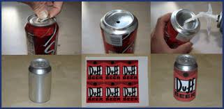 Image result for six pack beer cans