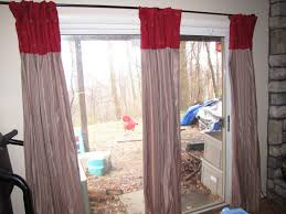 luxury patio door curtain