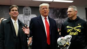 President Donald Trump received rousing ovation at Army-Navy game