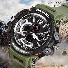 <b>Men's</b> Watches <b>Sports Outdoor</b> Waterproof Military Wrist Watch Date ...