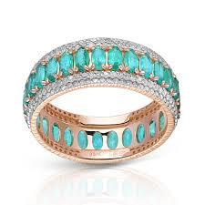 <b>Кольцо</b> из золота с <b>изумрудами</b> и бриллиантами — Ювелирный ...