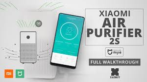<b>Xiaomi Air Purifier</b> 2S (compared with other models) - YouTube