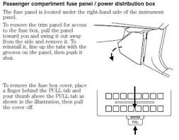 where is the power distribution box in a 2008 ford fixya how to a the fuse box in an ford expedition