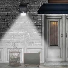 2 Pack- <b>20LED Solar Power</b> PIR Motion Sensor Wall Light Outdoor ...
