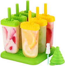 Ice Lolly & Ice Cream Moulds - Silicone / Ice Lolly ... - Amazon.co.uk