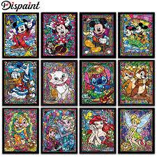 "<b>Dispaint Full Square/Round Drill</b> 5D DIY Diamond Painting ""Cartoon ..."