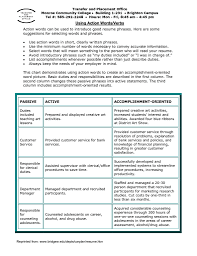 strong action verbs for resumes resume templates strong action verbs for resumes