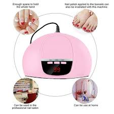 <b>45W</b> UV LED Nail Lamp Gel <b>Nail Polish Dryer</b> UV Light Fast Curing ...