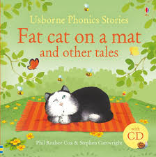 Детская книга <b>Fat</b> cat on a mat and other tales, with CD: продажа ...