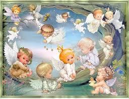 <b>DIY</b> 3D Diamond Mosaic <b>cartoon angel</b> baby handmade Diamond ...
