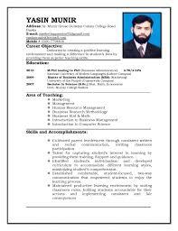 Cv Format For Teaching Job Application Free Resume Templates Resume  Examples Samples Cv