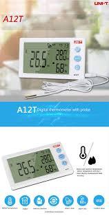 <b>UNI</b>-<b>T A12T Digital LCD</b> Термометр Гигрометр Температурный ...