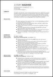 What to Include in a Creative Medical Sales Representative Resume Resume Now
