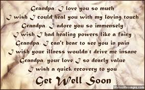 Get Well Soon Poems for Grandpa | WishesMessages.com