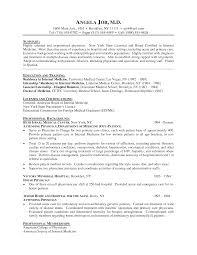 resume for physician co resume for physician