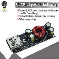 <b>QC3</b>.<b>0</b> QC2.0 FCP IP6518 Full Protocol <b>Fast Filling</b> Board Module ...