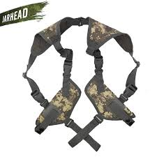 Airsoft <b>Tactical Military</b> Double Pouch Hunting Combat Adjustable ...