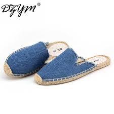 DZYM <b>2019</b> Summer Linen <b>Flax</b> Fishermen Shoes Cork <b>Women</b> ...