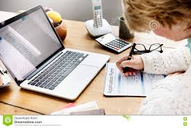 w filling application form documents concept stock photo w filling application form documents concept