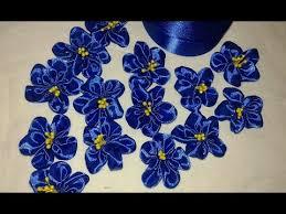Цветы из атласных лент своими руками.<b>Заколки</b>-<b>бабочки</b> ...