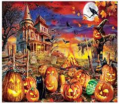 Teens Adults Puzzle with Halloween Theme Pattern ... - Amazon.com