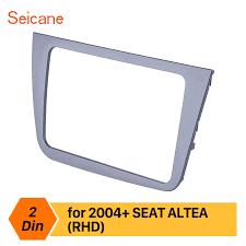 Seicane 2 din <b>Car Stereo Radio Fascia</b> for 2004+ SEAT Altea ...